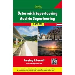 Freytag a Berndt Rakousko Supertouring 1:150 000 autoatlas