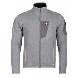 High Point Skywool 5.0 Sweater Grey/grey zip pánský vlněný sportovní svetr Tecnowool