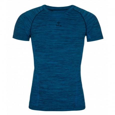Kilpi Leape-M modrá pánské funkční rychleschnoucí outdoorové triko krátký rukáv