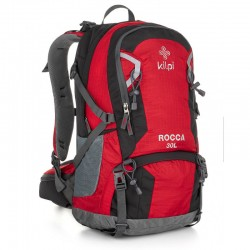 Kilpi Rocca-U 30l turistický outdoorový batoh red červený