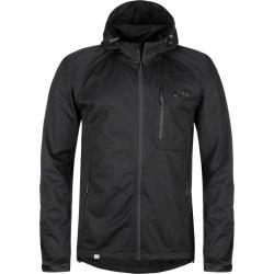 Kilpi Enys-M černá pánská lehká softshellová bunda