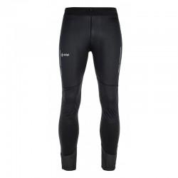 Kilpi Bristen-U černá NU0003KIBLK unisex elastické běžecké mírnězateplené kalhoty - legíny