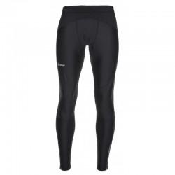 Kilpi Karang-M černá LM0069KIBLK pánské elastické běžecké zateplené kalhoty