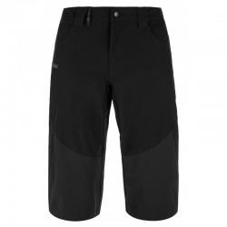 Kilpi Otara-M černá MM0029KIBLK pánské turistické 3/4 outdoorové kalhoty