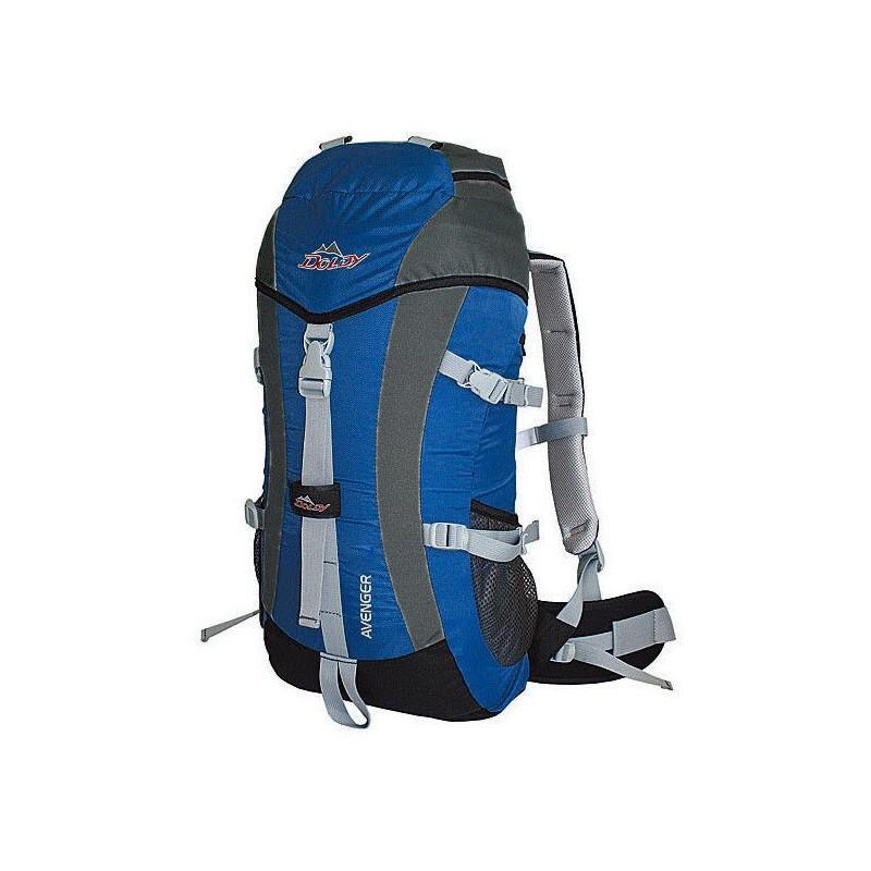 ... Doldy Avenger 40l modrá šedá turistický batoh ... b761646a5e
