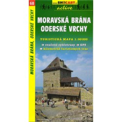 SHOCart 68 Moravská brána, Oderské vrchy 1:50 000