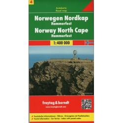 Freytag Norsko Nordkapp 1:400 000