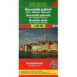 Freytag Chorvatské pobřeží 1:200 000