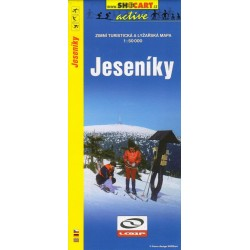 Shocart Jeseníky lyžařská mapa 1:50 000