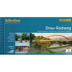 Bikeline Drau-Radweg/Drávská cyklostezka 1:50 000 cykloprůvodce