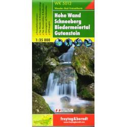 Freytag & Berndt WK 5012 Hohe Wand, Schneeberg, Biedermeietal, Gutenstein 1:35 000