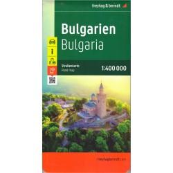 Freytag & Berndt Bulharsko 1:400 000 automapa