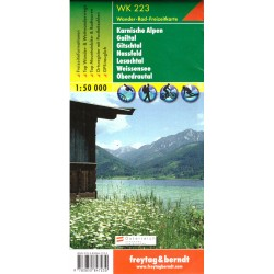 Freytag & Berndt WK 223 Karnské Alpy 1:50 000