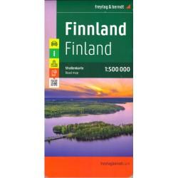 Freytag a Berndt Finsko 1:500 000 automapa