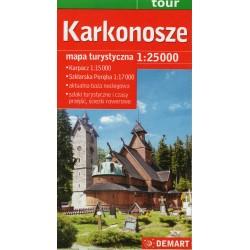 DEMART Karkonosze/Krkonoše 1:25 000