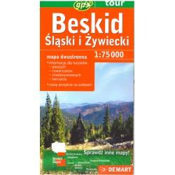 DEMART Beskid Śląski i Żywiecki/Slezské a Kysucké Beskydy 1:75 000