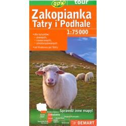 DEMART Zakopianka, Tatry i Podhale 1:75 000