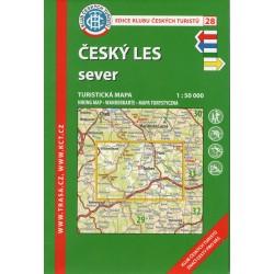 KČT 28 Český les sever 1:50 000
