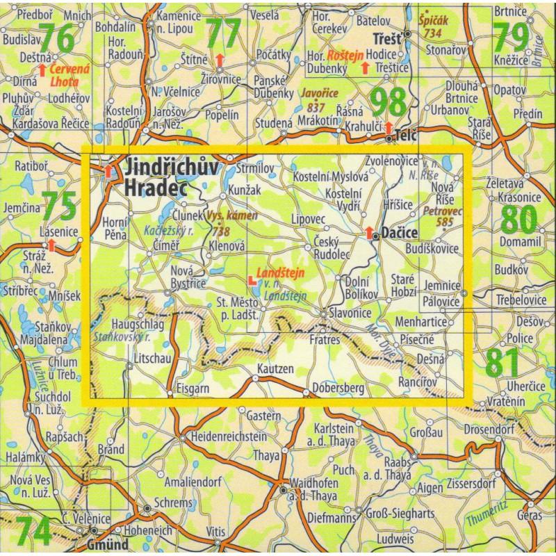 Mapa Ceska Kanada Turisticka Mapa