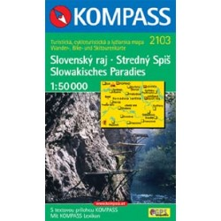 Kompass 2103 Slovenský ráj 1:50 000
