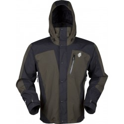 High Point Thunder Jacket dark khaki/black pánská nepromokavá bunda BlocVent 2L SDWR