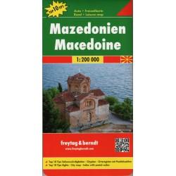 Freytag a Berndt Makedonie 1:200 000