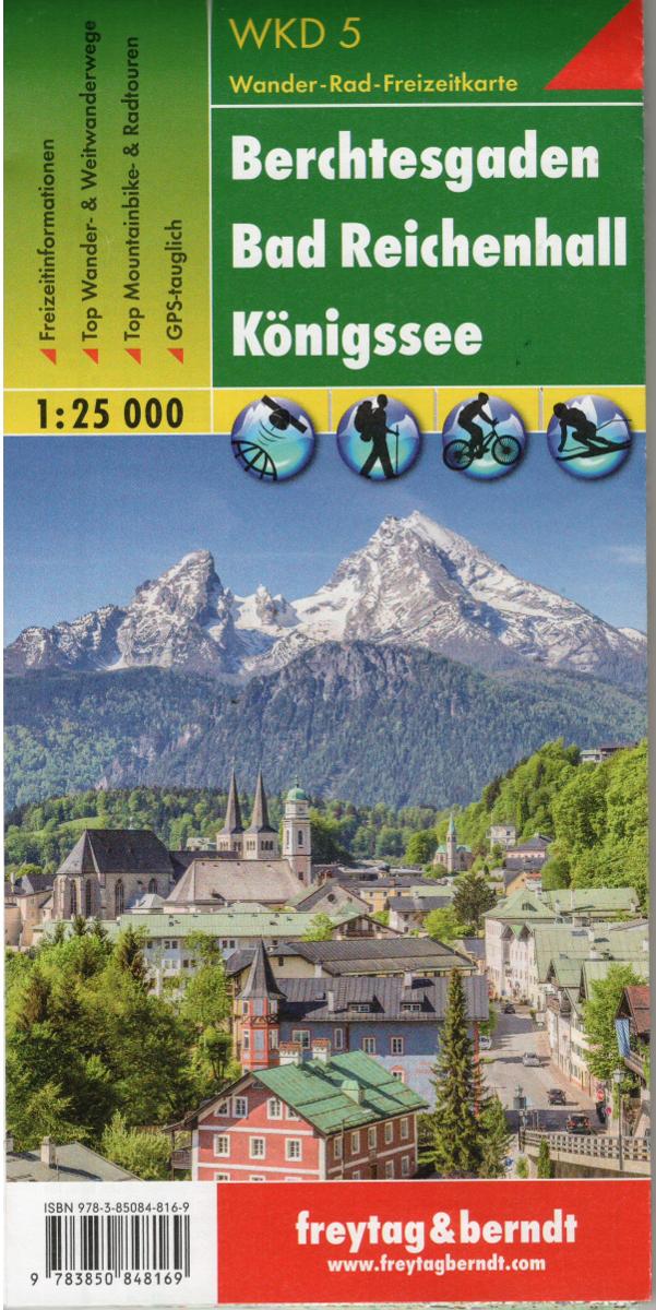 Freytag A Berndt Wk D5 Berchtesgaden Bad Reichenhall Konigssee 1