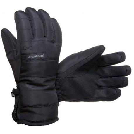 Relax RR07A černá dětské lyžařské rukavice 4b7003b648
