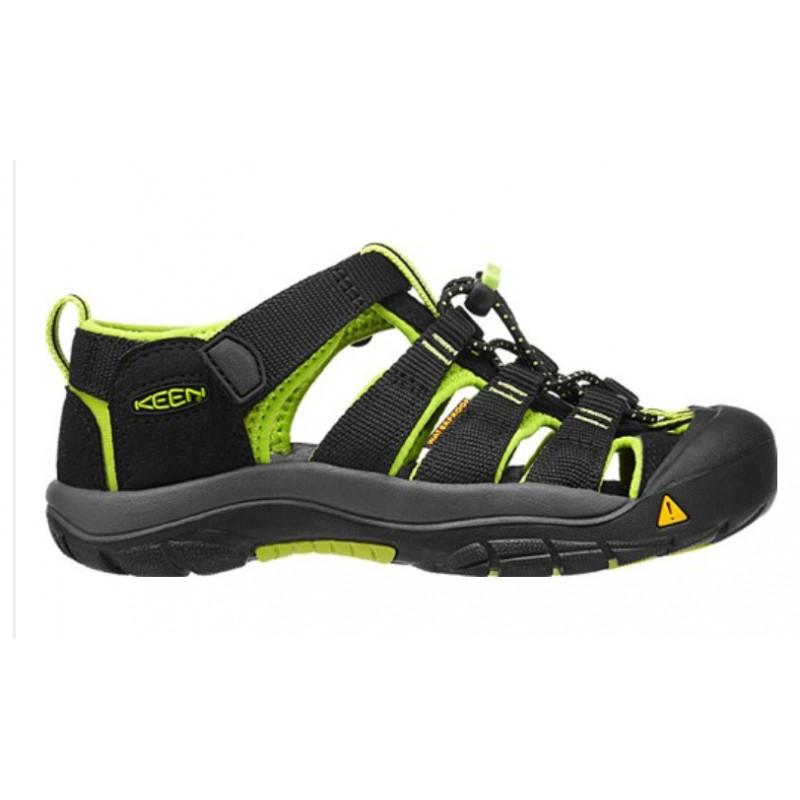 ... Keen Newport H2 Jr black lime green dětské outdoorové sandály i do vody  (1 ... 9b9ad65eef2