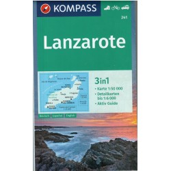 Kompass 241 Lanzarotte 1:50 000