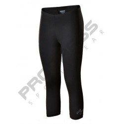 Progress Florida 3Q černá dámské tříčtvrteční kalhoty/legíny Meryl