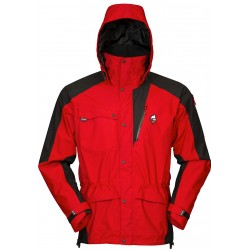 High Point Mania 5.0 Jacket red/black pánská nepromokavá bunda BlocVent 2L DWR