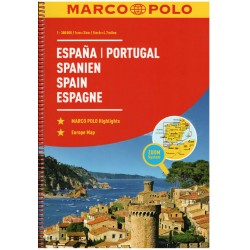 Marco Polo Španělsko, Portugalsko 1:300 000 autoatlas
