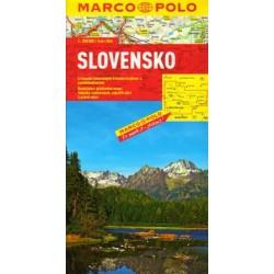 Marco Polo Slovensko 1:300 000 automapa