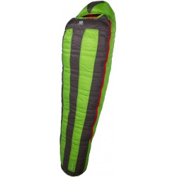 Sir Joseph Looping II 1200 190 zelená expediční nepromokavý péřový spací pytel Exel Dry Li