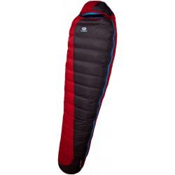 Sir Joseph Erratic Plus II 1000 190 červená zimní nepromokavý péřový spací pytel Exel Dry