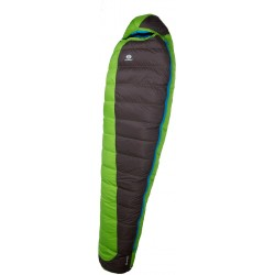 Sir Joseph Erratic Plus II 850 190 zelená zimní nepromokavý péřový spací pytel Exel Dry Li