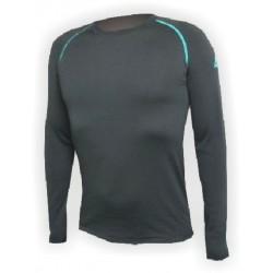 Jitex BoCo Iles 902 TSS černá/zelená pánské triko dlouhý rukáv