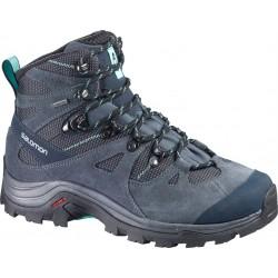 Salomon Discovery GTX W grey denim/softly blue 366664 dámské nepromokavé trekové boty