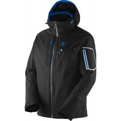 Salomon Contest Jacket M black 352538 pánská nepromokavá zimní lyžařská bunda