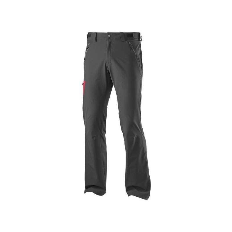 5174d016eb22 Salomon Wayfarer Pant M black victory red 371103 pánské lehké softshellové  kalhoty