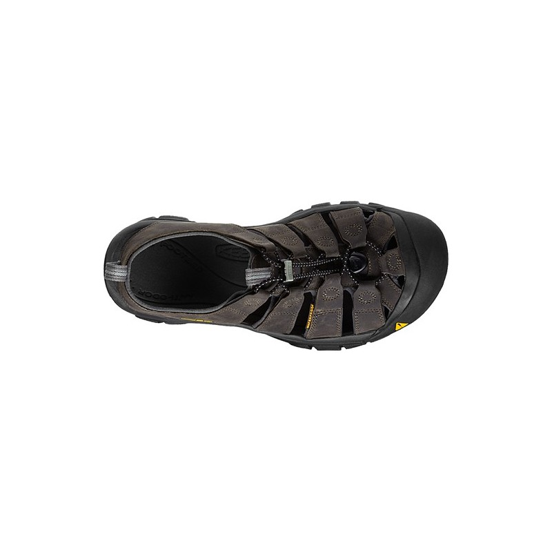 ... Keen Newport M neutral gray gargoyle pánské kožené outdoorové sandály  (4) ... ad3a7ee917