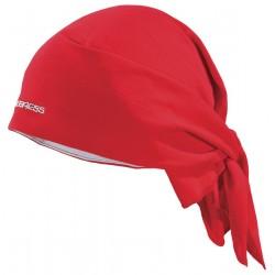 Progress D SAT červená unisex trojcípý šátek