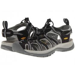 Keen Whisper W black/neutral gray dámské outdoorové sandály i do vody
