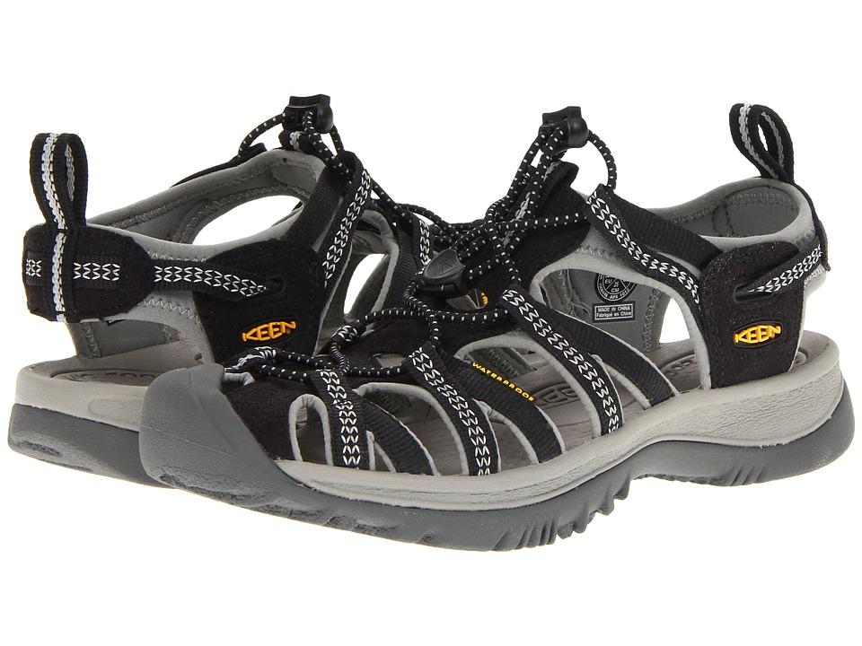 874cfde9ca72 Keen Whisper W black neutral gray dámské outdoorové sandály i do vody