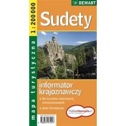 DEMART Sudety 1:200 000 automapa