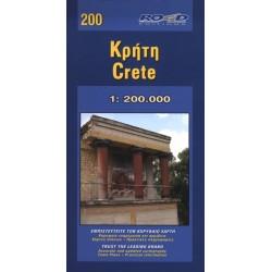 200 Crete/Kréta 1:215 000 automapa