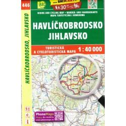 SHOCart 446 Havlíčkobrodsko, Jihlavsko 1:40 000