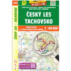 SHOCart 413 Český Les, Tachovsko o 1:40 000