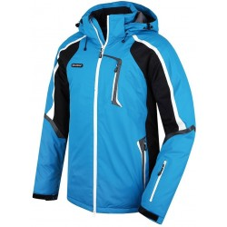 Husky Gris modrá pánská nepromokavá zimní lyžařská bunda Aquablock Plus